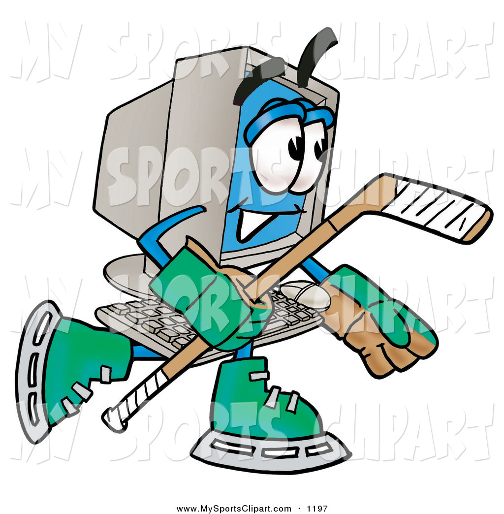 Cartoon Hockey  Shutterstock